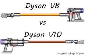 Dyson Models Comparison Chart Dyson V8 Vs V10