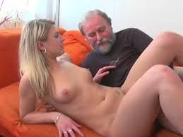 Old man fuck blonded girl