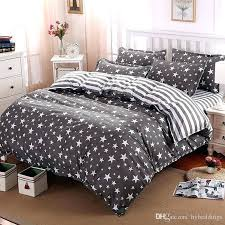 melyssa white full queen duvet cover whole the stars stripes polyester bedding set grey bed