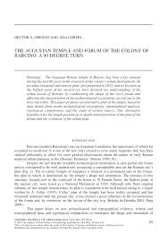 PDF) The Augustan Temple and Forum of the Colony of Barcino: A 90 Degree  Turn