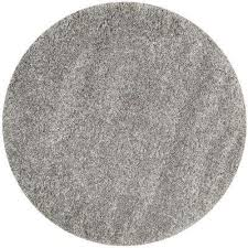 california silver 7 ft x 7 ft round area rug