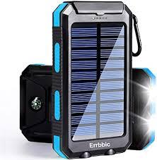 Solar Power Bank Portable Charger 20000mah ... - Amazon.com