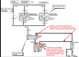 ford starter solenoid wiring diagram wiring diagram and i terminal on starter solenoid ford mustang forum