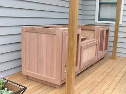 wooden outdoor cabinet - Google Search