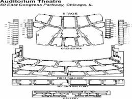 Auditorium Theatre Chicago Il Seating Chart 70 Actual Auditorium Theater Seating