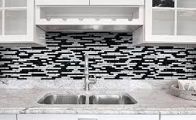 white and black kitchen backsplashes. Interesting Kitchen White Countertop Black Gray Backsplash With White And Black Kitchen Backsplashes N