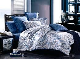 bohemian comforter set king home ideas important blue paisley bedding poppy and fritz cotton comforter set free