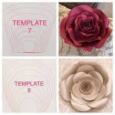 Paper Flower Templates Free Download Make Paper Flower Petals Zlatan Fontanacountryinn Com