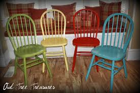 Distressed Kitchen Furniture Distressed Farm Chairs Set