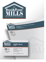 Custom Design Contests » Fun Custom Design for Russ and Penny Mills  (realtors) » Design No. 61 by pidot | HiretheWorld