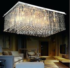 rectangular crystal chandeliers new design rectangular crystal chandelier living modern home crystal lamp in chandeliers from rectangular crystal