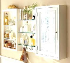 acclaim solid oak bathroom wall mounted storage cabinet white mirror cabinets adorable design of the with