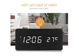 package contents 1 x led wooden alarm clock 1 x usb cable 1 x user manual in english and chinese