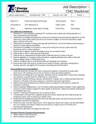 Cnc Machinist Resume Samples Machinist Resumes Samples Krida 14