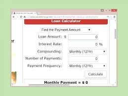 Loan Calculator Template Template Excel Loan Calculator Template 19
