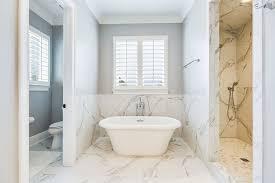 White Master Bathrooms