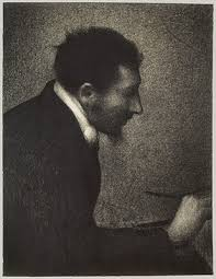 georges seurat and neo impressionism essay  aman jean portrait of edmond francois aman jean
