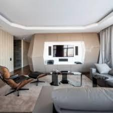 Dominion  A Futuristic Moscow Apartment With Custom Interior Design