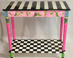 whimsical painted furnitureWhimsical HandPainted Furniture  Home by MicheleSpragueDesign