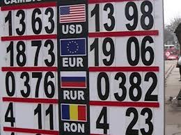 Curs valutar azi chisinau