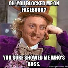 Blocked On Facebook on Pinterest | Bad Grammar Humor, Human ... via Relatably.com