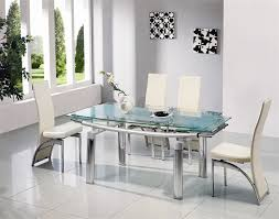 round glass dining table. Glass Dining Table Set. Exellent And 8 Chairs Modern Sets Extendable Round G