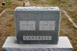 Issabelle Morris Cantrell (1871-1929) - Find A Grave Memorial