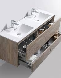 modern bathroom sink cabinets. De Lusso 60\ Modern Bathroom Sink Cabinets