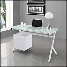 ikea white office desk malm linnmon table with regard to glass top inside white glass office
