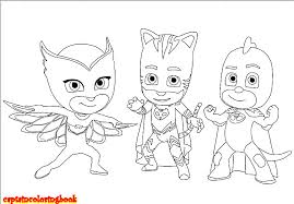 Small Picture Disney PJ Masks coloring pages free Download Coloring Page