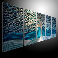 original metal art blue tree wall sculpture metal painting wall oil abstract art refraction line 201207a30 in crafts from home garden on aliexpress  on metal paintings wall art with original metal art blue tree wall sculpture metal painting wall