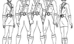 Una Raccolta Di Popolare Immagini Power Ranger Da Colorare