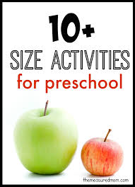 10 Big And Small Activities For Preschool The Measured Mom