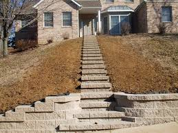 Cinder Block Stairs Diy