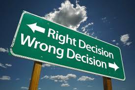 decisions essay