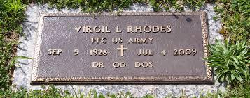 Dr Virgil Leonard Rhodes (1928-2009) - Find A Grave Memorial