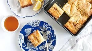Lemon Cream Cheese Coffee Cake Recipe BettyCrocker