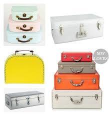 Decorative Suitcase Boxes decorative luggage box My Web Value 2
