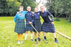 A scaled down Highland gathering - PressReader