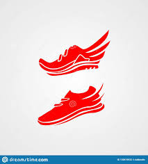 Shoes Logo Design Free Download Shoes Logo Collection Running Logo Shoes Logo Stock Vector