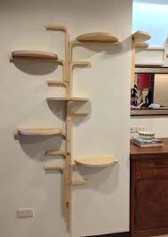 wall mounted cat trees shelves for cats best climbs via stairs cubes circles images on furniture wall mounted cat trees