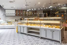 Interior Of Modern Bakery Stock Photo Picture And Royalty Free