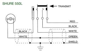 please note shure 550l schematic