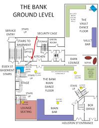 Bank Main Floor Plans Wod Gotham