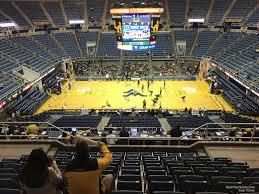 Wvu Coliseum Section 211 Rateyourseats Com