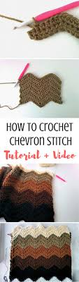 How to Crochet Chevron Stitch [Video + Written]