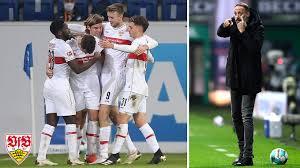 Vfb stuttgart sensationen in der 1. Vfb Stuttgart Mit Variablem Aufbauspiel Nach Vorne Kombinieren Dfb Deutscher Fussball Bund E V
