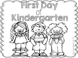 back to school coloring pages coloring pages back to school coloring pages free welcome to kindergarten page back school say the class on first day back to