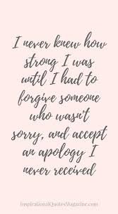 Quotes On Forgiveness Extraordinary Inspirational Quote About Strength Forgiveness And Relationships