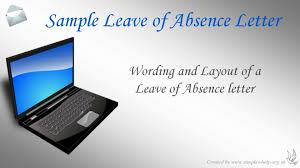 How To Write A Leave Of Absence Letter - Youtube